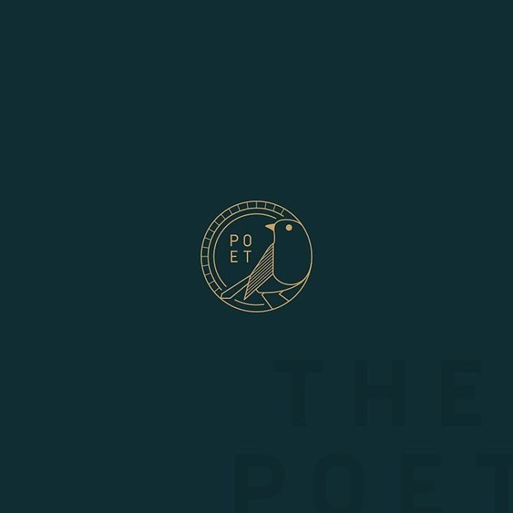 "652 Likes, 33 Comments - Audrey Elise (@_audreyelise) on Instagram: ""39. Poet -   #dailylogoseries"""
