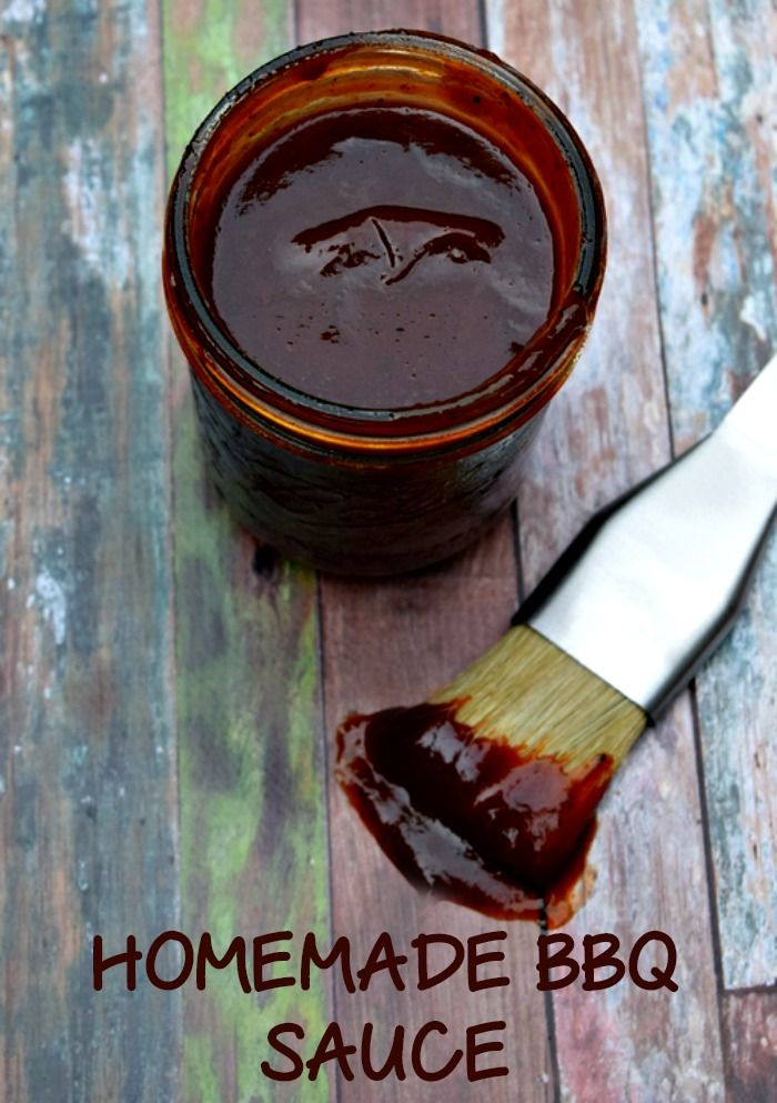 Homemade BBQ sauce is SO much better than store bought! Can't wait to try this!