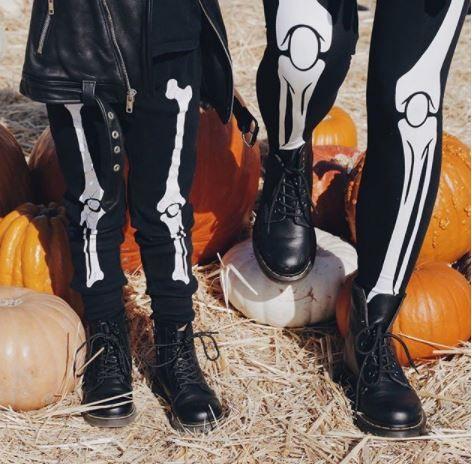 Martensy sprawdzą się również świetnie w Halloween.