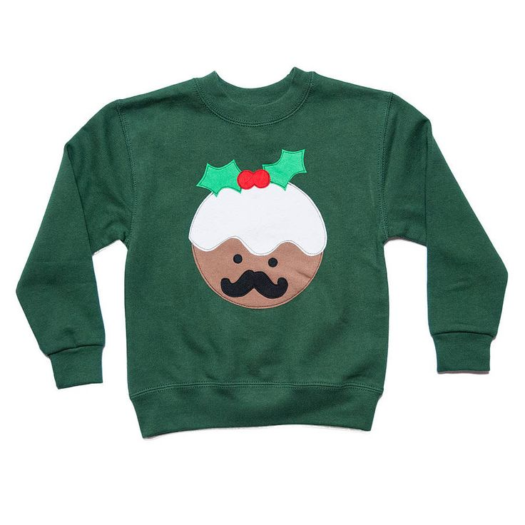 children's christmas pudding festive jumper by not for ponies | notonthehighstreet.com