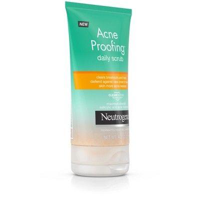 Neutrogena Acne Proofing Daily Salicylic Acid Acne Treatment Exfoliating and Cleansing Face Scrub - 4.2oz
