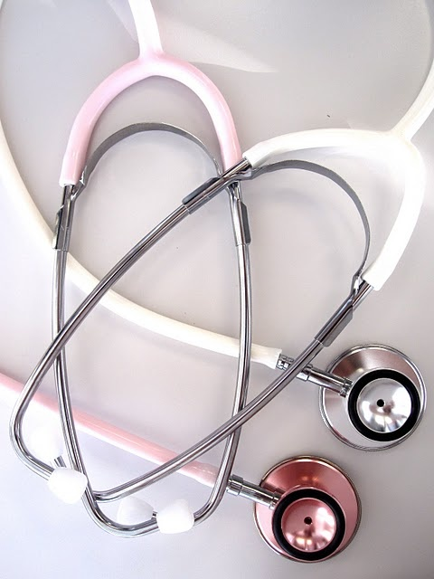 Dat premed life-want the pink one :) Littman's Cardiac Stethoscope