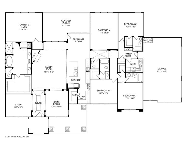 Drees Custom Homes Floor Plans: 353 Best Images About House Plans On Pinterest