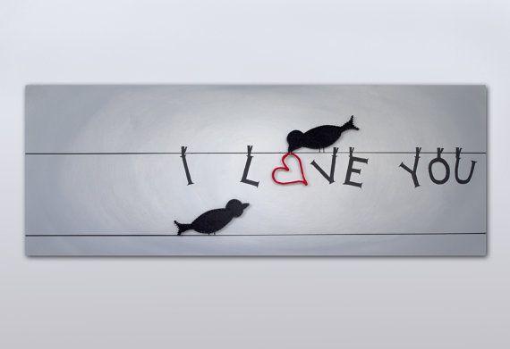 Arte della stringa piccioncini con pittura di TheStringArtStudio