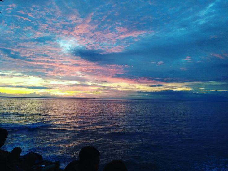 Sunset at Senggigi Beach,  Lombok Barat,  Nusa Tenggara Barat