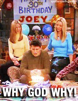 Happy 30th Birthday! #birthday #cumple | Joey friends ...