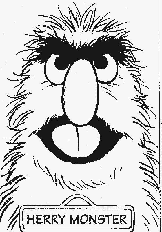 97 best sesame street colouring pages images on Pinterest Sesame