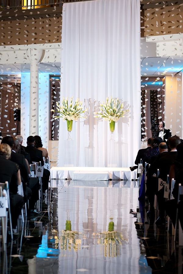decorating ideas for outside wedding ceremony%0A ceremony decor