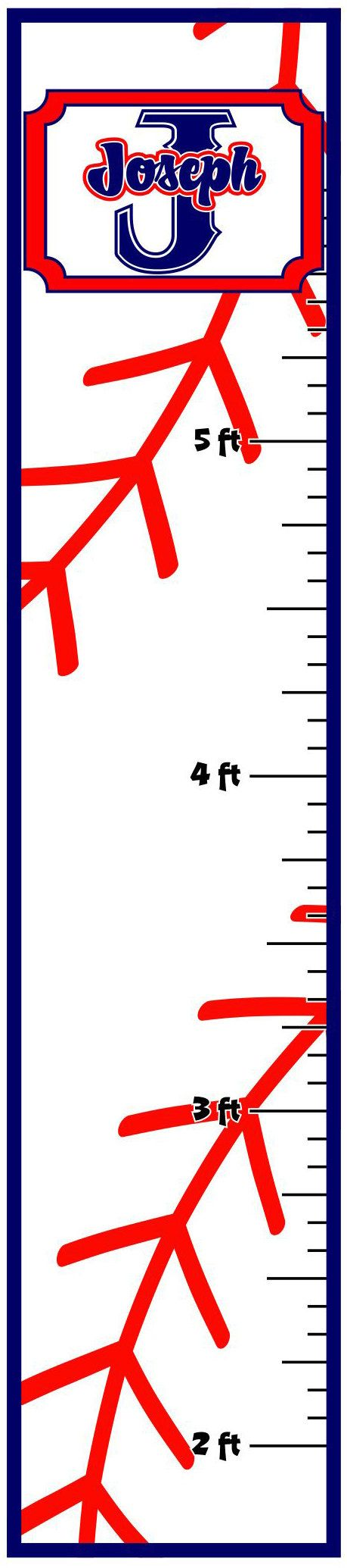 51 best growth charts images on pinterest growth ruler bedrooms personalized growth chart baseball theme by velocelenza on etsy 3999 nvjuhfo Images