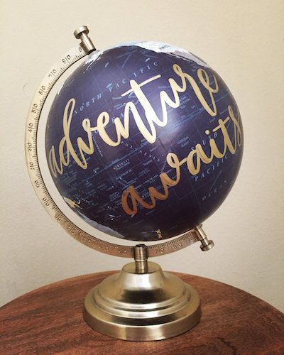 Adventure awaits (would make an awesome wedding gift)