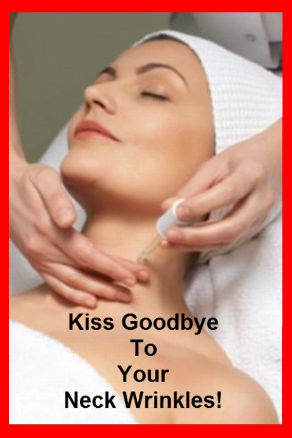 How to get rid of wrinkles on neck with great tips, effective treatments and homemade recipes. #neckwrinkles #skincare #beautytips