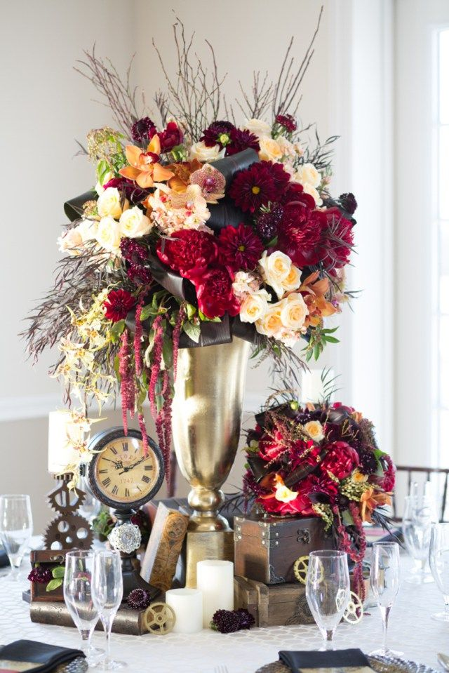 Best 25 Steampunk centerpiece ideas on Pinterest Diy industrial