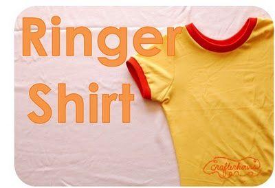 The Ringer Shirt: A Tutorial
