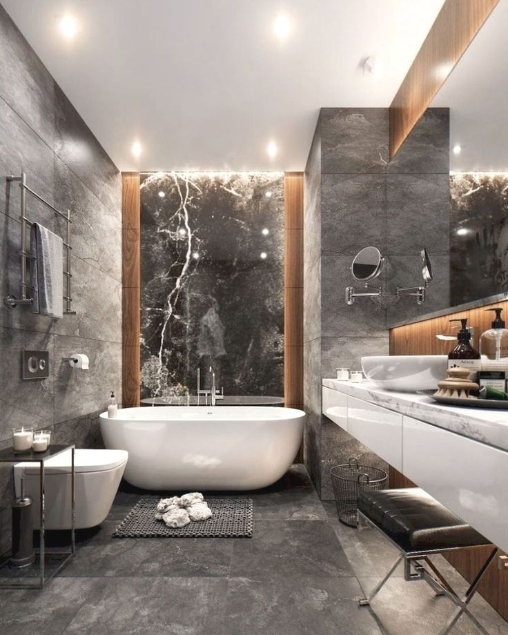 a black and white bathroom is a contemporary and classic style rh pinterest com