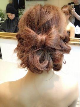 【Brillo】☆りぼん×ルーズアップ☆ - ヘアスタイル・髪型・ヘアカタログ [キレイスタイル]