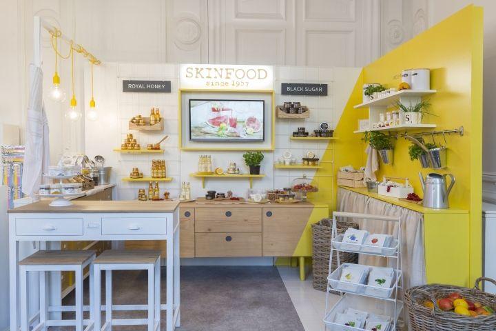 Skinfood pop-up store by centdegrés, Paris – France » Retail Design Blog