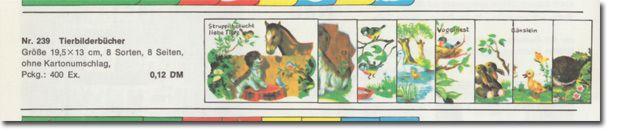 Reihe 239 im Katalog 1970