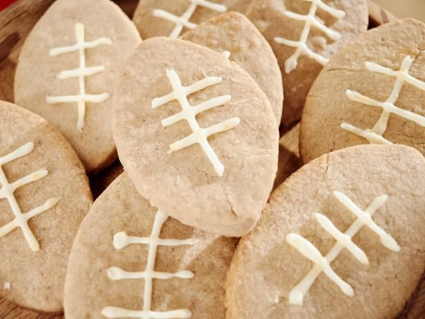 Get Giada De Laurentiis's Walnut Football Cookies Recipe from Food Network