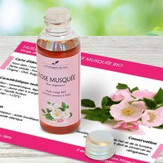 Huile végétale de Rose Musquée BIO contre l'acné, les vergtures et efficace comme anti-rides