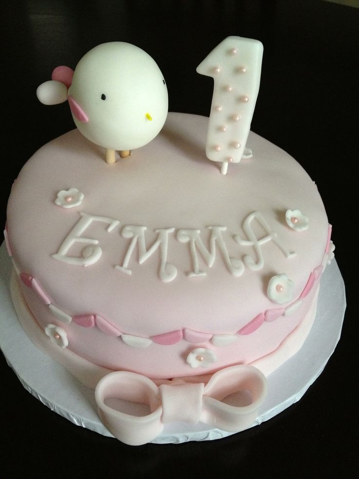 Baby Girl Quot 1 Month Quot Cake My Cakes Baby Girl Cakes