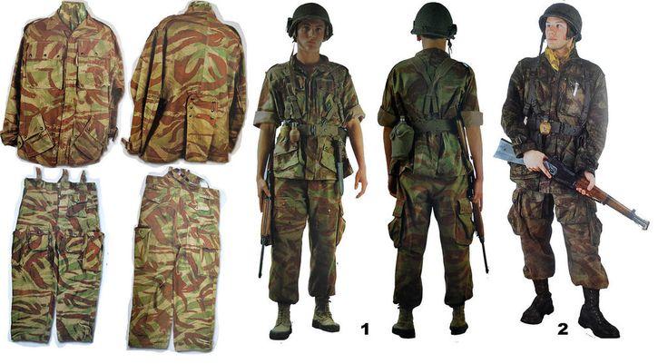 French Indochina War Camoflauge Uniforms 5 by AZinchenko1996