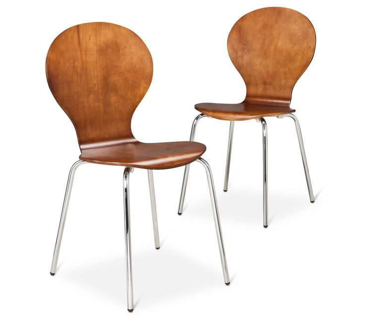 - Porter Modern Stacking Chairs, $70 for two
