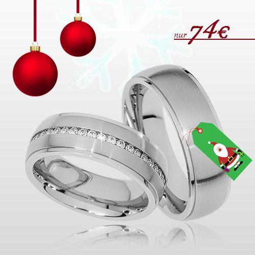 🎅 Partnerringe als Nikolausgeschenk 🎅 🔸 Machen Sie Ihre/r/m Liebst/e/n eine Freude 🔸 Bis zum 01.12.16 bestellen und vor dem Nikolaustag erhalten - nur 74€ / Paarpreis 🔸 inkl. Versand 🔸 inkl. Gravur 🔸 inkl. Ring-Etui