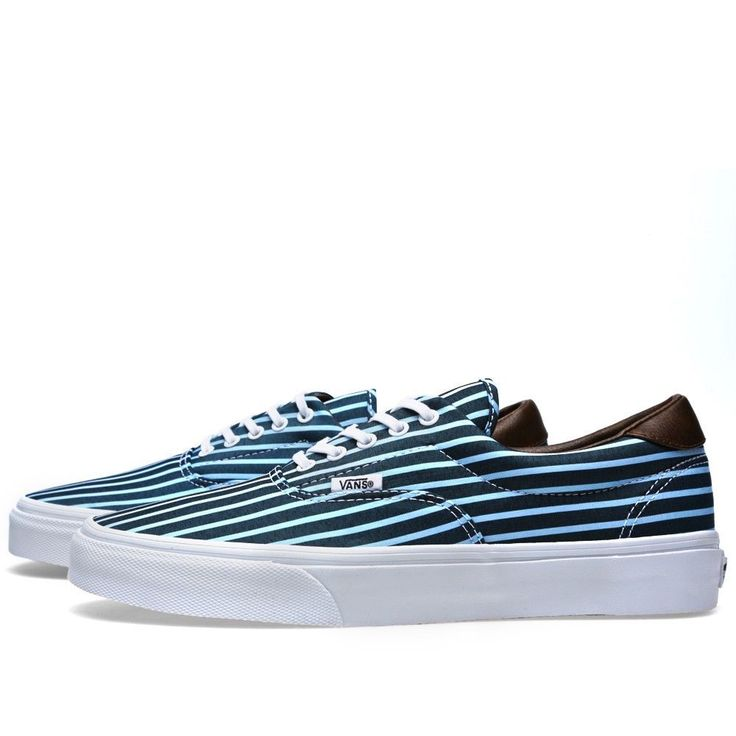d01ad487d8 Real Vans Era 59 Stripe Plimsolls Womens Sports footwear Womens ...