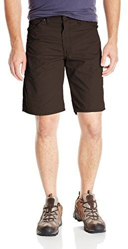 $20, Dark Brown Shorts: Dickies Relaxed Fit 11 Inch Ripstop Carpenter Short. Sold by Amazon.com. Click for more info: https://lookastic.com/men/shop_items/220198/redirect