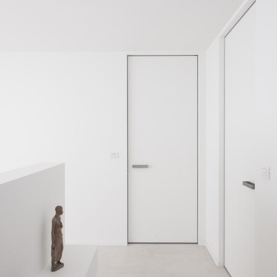 """InBouwOmlijsting IBO voor minimalistische binnendeuren zonder zichtbare omlijsting! Inbouwomlijstingen, de strakke oplossing voor deuren zonder zichtbare deuromlijsting. Het systeem noemt bij Anyway Doors """"IBO"""" (InBouwOmlijsting) en wordt door Anyway al jaren succesvol toegepast in woningen, getuige de vele realisaties op de website met dit systeem. www.anywaydoors.be"""