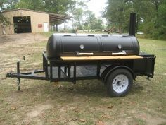 RK250 BBQ Pits, Custom Smokers, & Barbecue Trailers