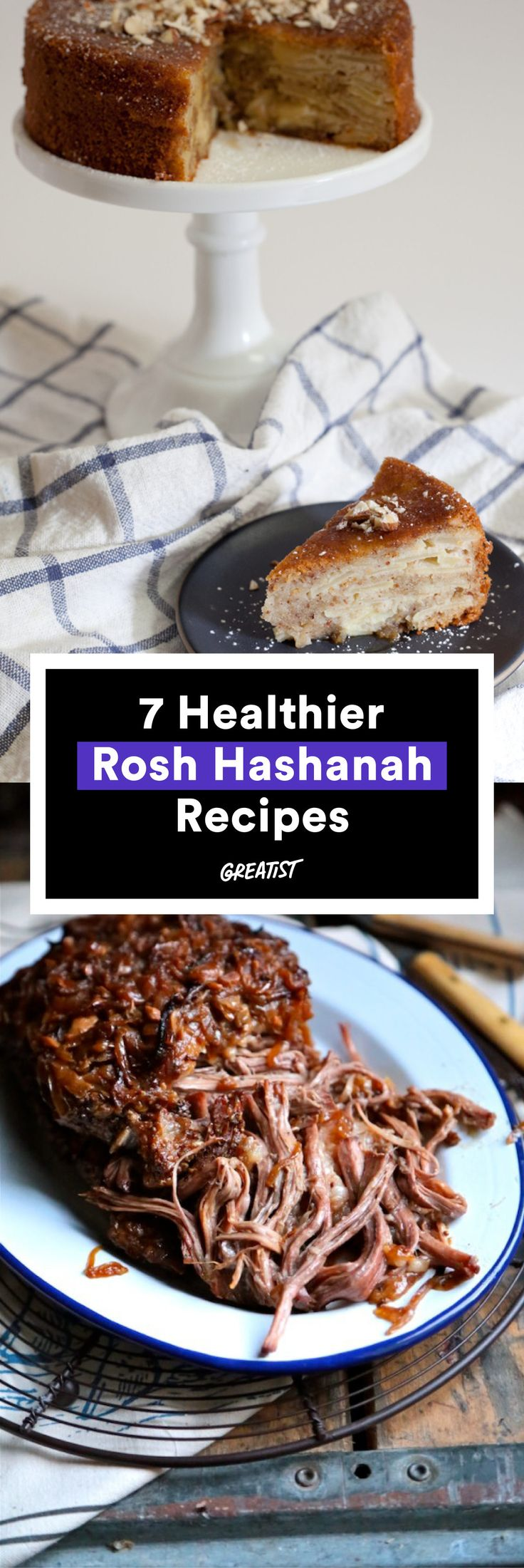 22 best rosh hashanah apple and honey plates images on pinterest 7 better for you rosh hashanah recipes for a sweet new year kristyandbryce Choice Image