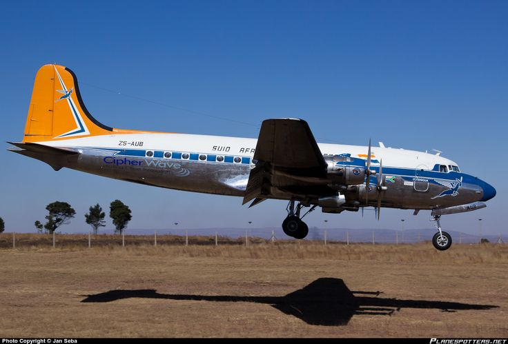 ZS-AUB South African Airways (Historical Flight) Douglas DC-4 taken 30. May 2014 at Johannesburg - Rand (QRA / FAGM) airport, South Africa by Jan Seba