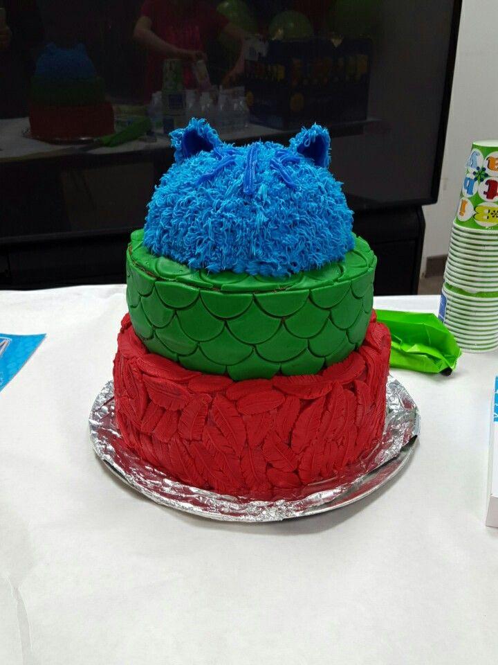 PJ Masks Cake!!!