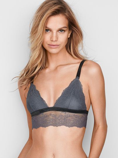 7a2a49b5eb Chantilly Lace Long Line Bralette