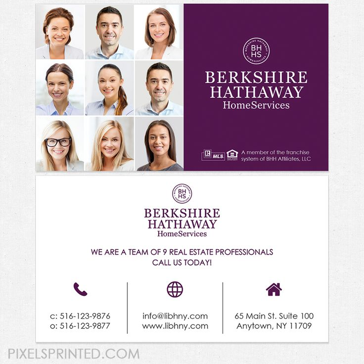 63 best Berkshire Hathaway Home Services real estate stationery ...