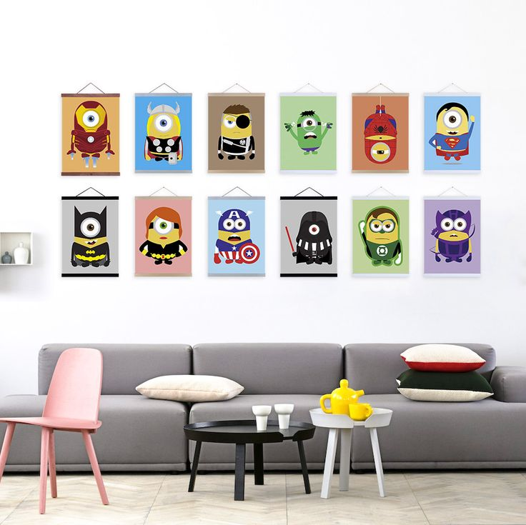 I have a nice and perfect design for our house, specially for the room's of my kids. It is a Movie Canvas Art that has many cartoon character, A fun activity that is great to work with it together with my kids. I'm sure that they're will be happy for this one. A collectible item for their favorite cartoon characters. Seeing their works in our walls is so fantastic.