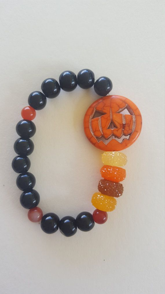 Halloween bracelets halloween bracelet by MioDesignBoutique Pin 3 listings, contact shop owner on Etsy and get 15% off purchase!