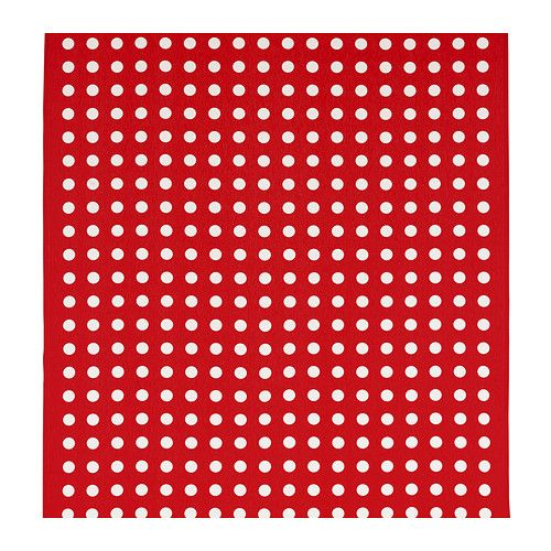 HILDIS Fabric, white, red