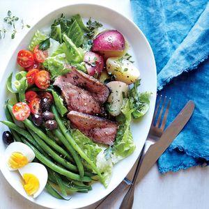 Steak Salad Niçoise | MyRecipes.com #myplate #veggies #protein