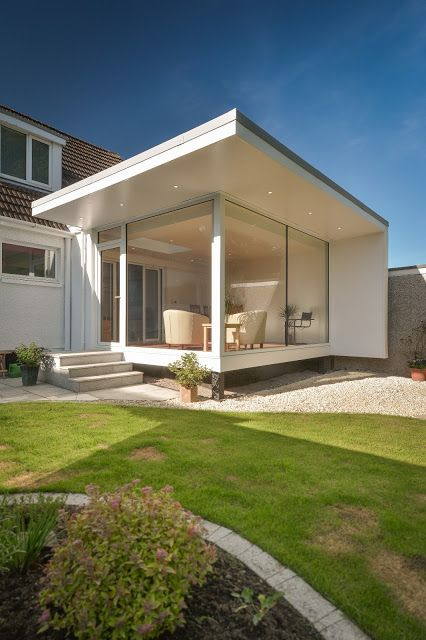 17 best images about contemporary extensions on pinterest for Modern garden room extensions