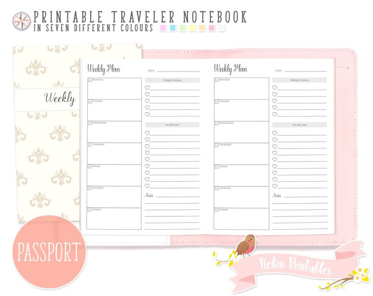 Size Measurements Of Travelers Notebooks