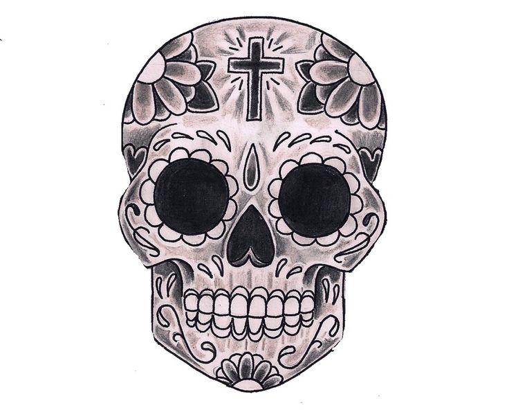 9 best day of the dead images on pinterest mexican skulls skulls and sugar skulls. Black Bedroom Furniture Sets. Home Design Ideas