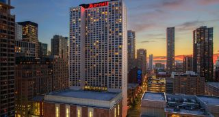 Marriott Downtown Magnificent Mile. 540 North Michigan Avenue 2 rooms reserved