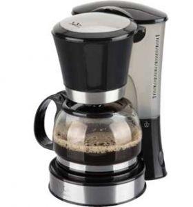 Cafetera de goteo Jata CA288N 2-8 Tazas - La cafetera de goteo Jata CA288N permite disfrutar de 2 a 8 tazas de café, con un tamaño compacto y cumpliendo con la normativa de ahorro energético europea. Soporte de filtro suspendido. Filtro permanente. Jarra de cristal con tapa. Sistema anti-goteo. Placa calorífica anti-adherente. Depósito de agua translúcido y graduado. Interruptor luminoso de funcionamiento. Inserciones en acero inoxidable. Fácil limpieza. - Color: Negro-acero. - Peso: 1,3…