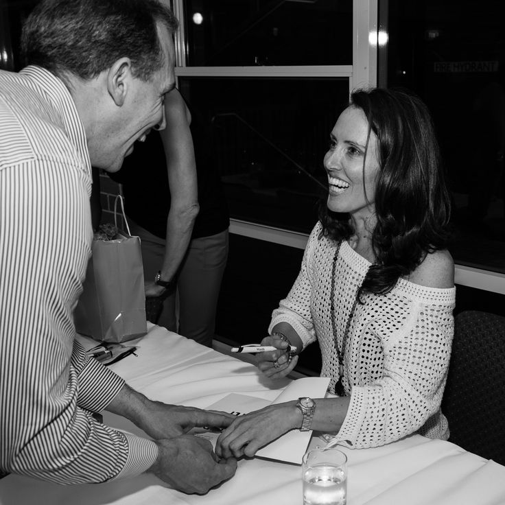 @buchan6169 signing books at the launch of her book, Step by Step - Photo Douglas Frost