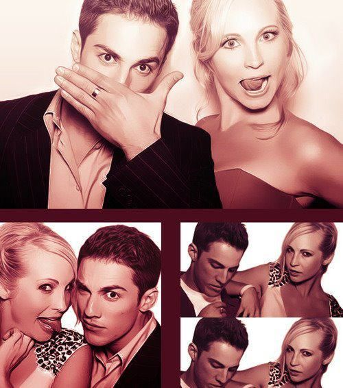 Michael Trevino and Candice Accola