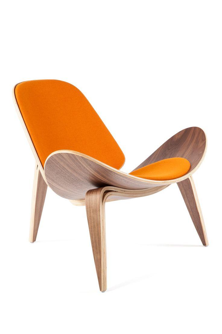 The Bishop Orange Chair