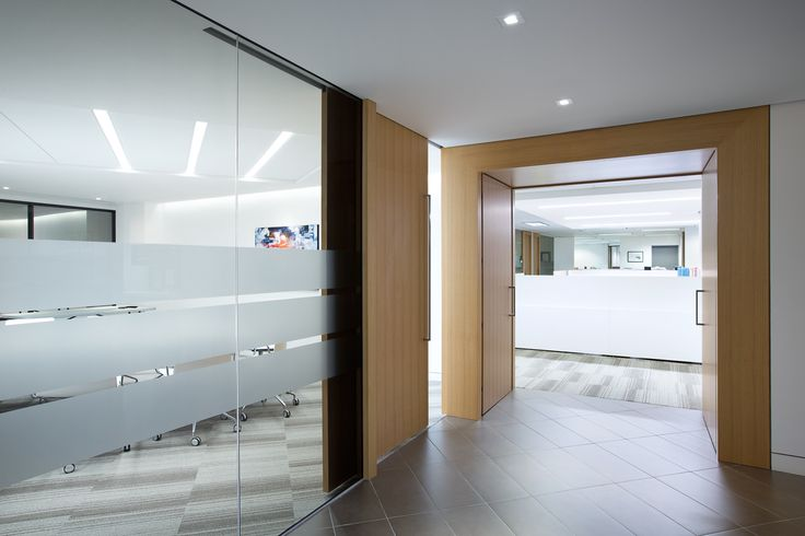 SSDG Interiors Inc.   workplace executive office: Financial Institution