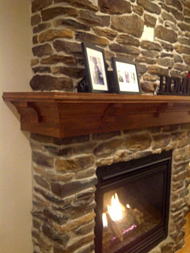 Custom Made Maple Mantel- Craftsman Style